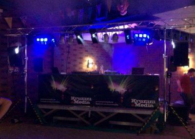 Bühne an Karneval in Dormagen-Horrem
